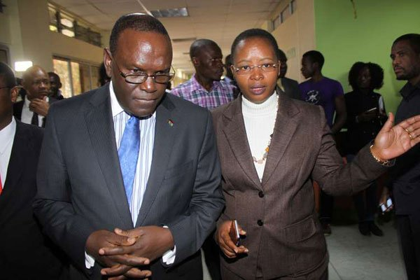 Health CS Cleopa Mailu has assured that there are solutions for the unrest in the sector