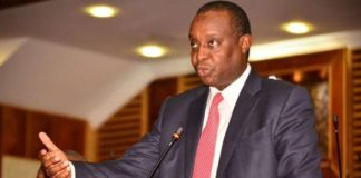 Treasury CS Henry Rotich