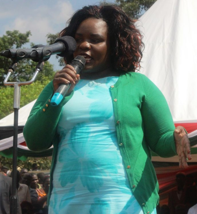 Busia First Lady Judy Ojaamong
