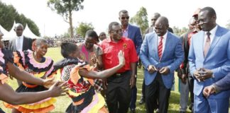 Wafula Masoni has appreciated the welcome given to DP William Ruto by residents of Webuye East Constituency as he toured Bungoma County