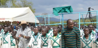 KANU and Jubilee leaders confronted each other in a church function in West Pokot County