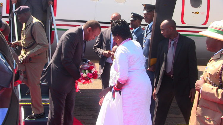 President Uhuru Kenyatta has assured residents that Panpaper mills will be fully revived