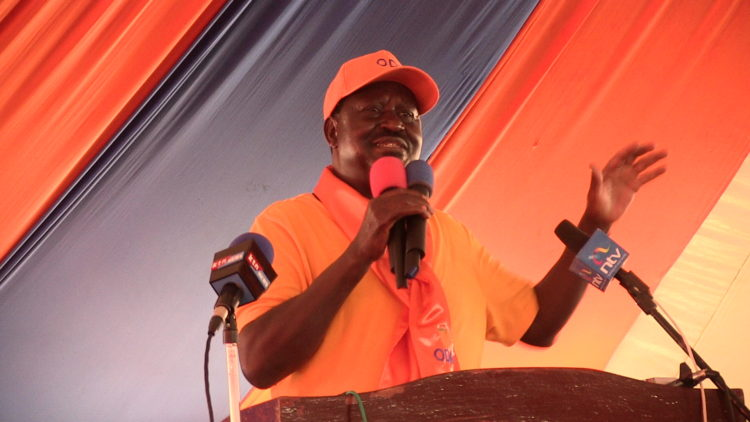 CORD leader Raila Odinga has insisted that there will be no stealing of elections
