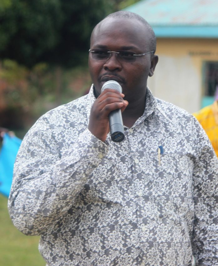 Busia County Executive Committee Member for Water and Sanitation Gregory Odeke