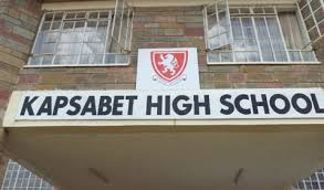 Kapsabet Boys High School is among the schools that had a performance drop in comparison to previous years in KCSE