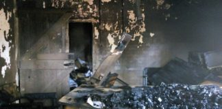 Part of the burnt County revenue office in Vihiga