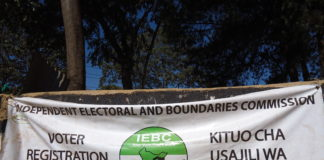The number of registered voters in Trans Nzoia County is still low