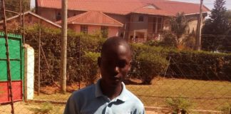 Mike Wabwile Simiyu, who scored 379 marks in the KCPE 2016 exams