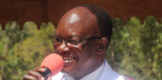 Lieutenant Colonel Fanuel Maube, the new Elgon Division Commander of the Salvation Army Church