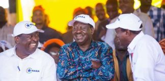 NASA presidential candidate Raila Odinga has said the government is responsible for the current food crisis