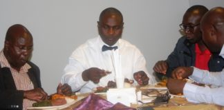 Leonard Obimbira declared his stance at a dinner party held at Hotel Itoya