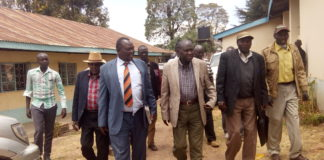 Sigor MP Philip Rotino with Pokot professionals