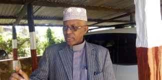 Acting County Commissioner Abdullahi Khalif