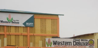 Busia Western Deluxe Maize Millers which was openedby Busia GovernorSospeter Ojaamong