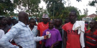 Some residents of Musakasa market in Siboti ward complained about a lack of voting materials during the FORD Kenya primaries