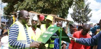 Governor Patrick Khaemba has urged Trans Nzoia residents to register for Huduma Namba