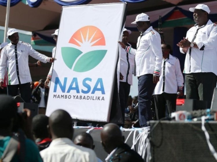 Kakamega Governor Wycliffe Oparanya has said NASA will make Kenya great