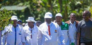 National Super Alliance (NASA) leaders are set to tour West Pokot County