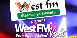 The highly anticipated West FM event will be held in Kitale