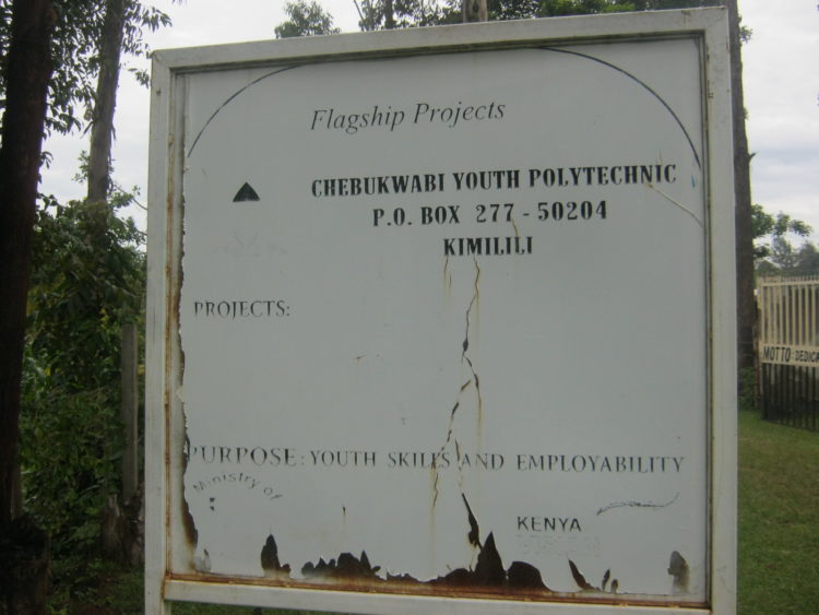 Chebukwabi Youth Polytechnic board officials have expressed their dissatisfaction with the decision to transfer the Institution manager