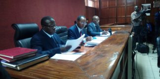 The three judges handling the case were chosen by Chief Justice David Maraga