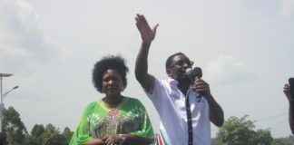James Orengo (right) has said the authority of independent institutions such as IEBC has been targeted