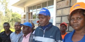The Lugari branch ODM officials when they spoke to the media