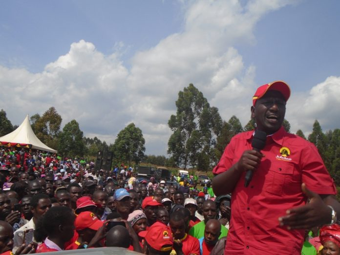 Unknown gunmen have attacked Deputy President William Ruto's shortly after leaving for a rally