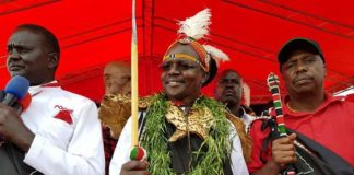 West Pokot newly elected Governor John Lonyangapuo (centre) has said he is ready to work with other leaders from the region