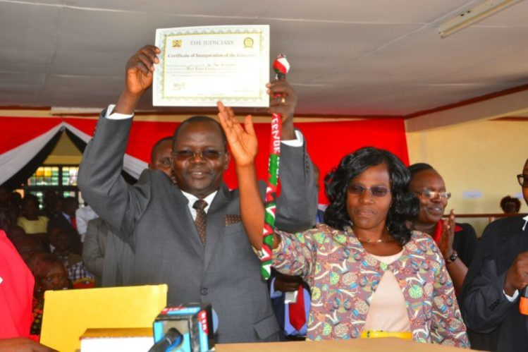 West Pokot Governor John Lonyangapuo has pledged his support for the project
