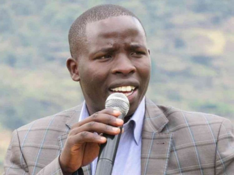 Nandi Governor Stephen Sang. FILE PHOTO