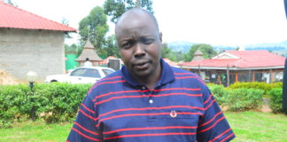 Pokot South MP David Pkossing