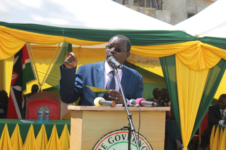West Pokot Governor John Lonyangapuo said the deal is a breakthrough for cotton farming