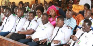 NASA leaders have been criticized by their Jubilee counterparts for calling for fresh polls boycott