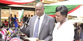 Nandi County CECs were urged to deliver their tasks efficiently by the County Governor during the swearing in ceremony