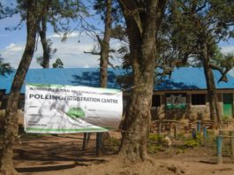 The number of registered voters who voted in Lugari and Likuyani was low