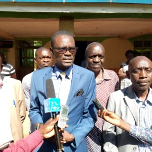 The MP pledged his support to the education sector in Kimilili