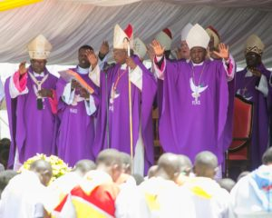 Catholic Bishops graced the funeral mass in Eldoret
