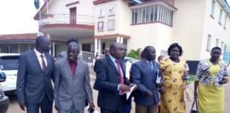 Jubilee Bungoma MCAs walked out of the County Assembly during the debate concerning the people's assembly