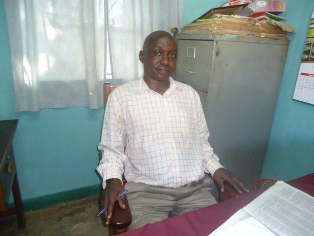 The Lugari Sub County veterinary officer Dr. Wycliffe Muholo