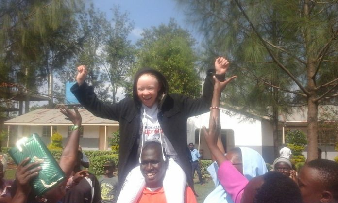 Goldalyn Kakuya emerged top in this year's KCPE exams