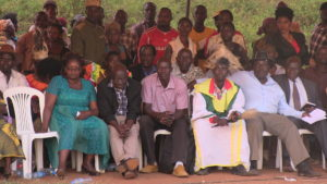 The Kenyan delegation attending the cultural day in Mbale, Uganda
