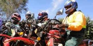 Boda boda operators paralyzed transport activities