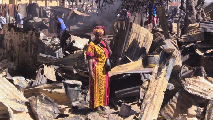 The Lang'ata fire caused devastating effects