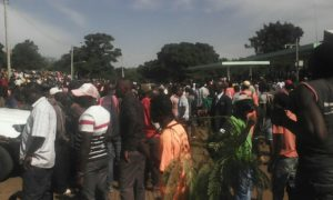 NASA supporters gathered at Uhuru Park