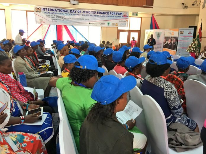 An event celebrating the International Day for Zero Tolerance to FGM was held at KICD in Nairobi, Kenya