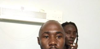 Dennis Omondi at his hospital bed at Kenyatta National Hospital when he was receiving treatment. FILE PHOTO