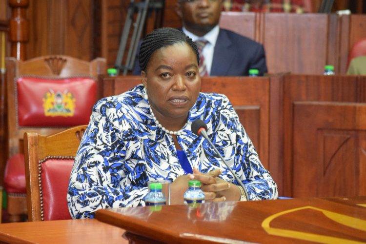 Foreign Affairs CS Monica Juma