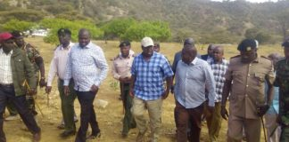 Interior CS Fred Matiang'i had called for an improved security presence along the Kerio valley