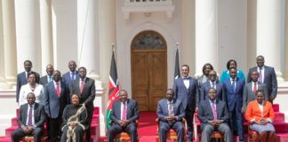 President Uhuru Kenyatta said his Cabinet reflects the face and diversity of the nation